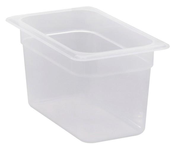 Frischhaltebox GN 1/4 265 x 162 x 150 mm Polypropylen transparent