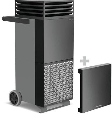 Luftreiniger TAC V+schwarz lackiert- inkl. erste Filterausstattung- inkl. Schall