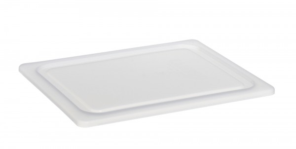 Luftdichter Deckel GN 1/1 weiß für Frischhalteboxen + GN-Beh. Polycarbonat