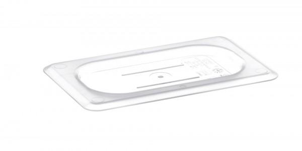 GN-Deckel GN 1/9 176 x 108 mm ohne Griffohne Aussparung Polycarbonat transparent