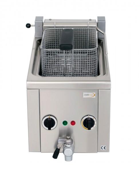 Elektro-Fritteuse 6 l mit Ablasshahn, 400V