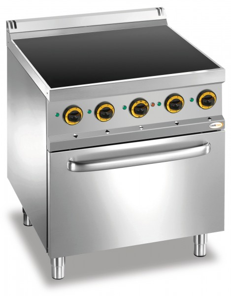 Ceran-Herd 4 Zonen Elektro-Backofen 700 x 700 x 850 mm