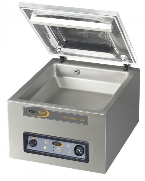 Vakuumiergerät cookmax 30, 8 m³/h Schweißbalken 350 mm, 450 x 525 x 385 mm| Cookmax