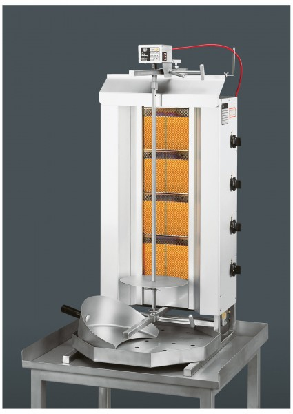 Gas-Gyros/Dönergrill POTIS GD4 550 x 740 x 1120 mm