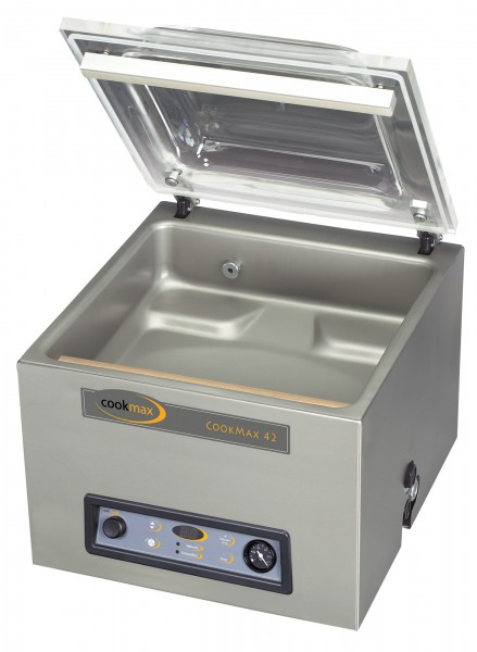 Vakuumiergerät 16 m³/h Schweißbalken 420 mm, 490 x 525 x 430 mm| Cookmax
