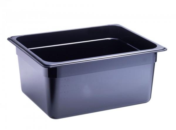 GN-Behälter GN 1/2 325 x 265 x 150 mm Polycarbonat schwarz
