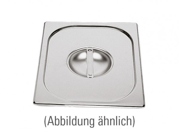 GN-Deckel GN 1/3 325 x 176 mm ohne Löffelausschnitt Edelstahl