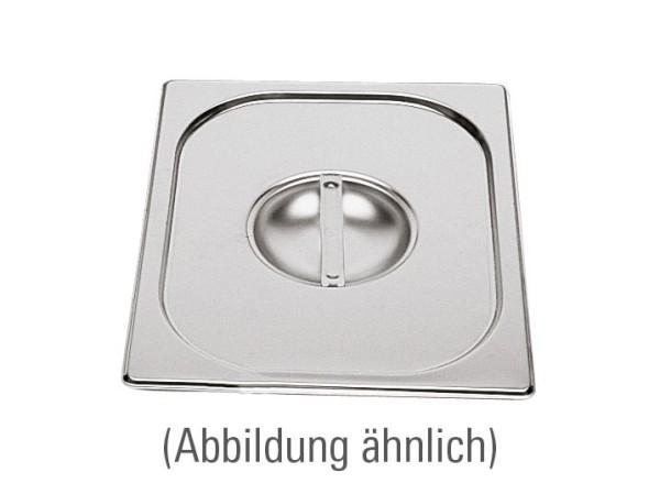 GN-Deckel GN 1/2 325 x 265 mm ohne Löffelausschnitt Edelstahl