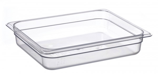 GN-Behälter GN 1/2 325 x 265 x 65 mm Polycarbonat transparent