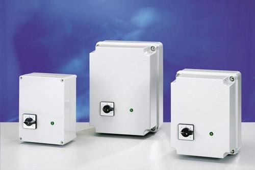 Drehzahlregler 5-stufig 230 V / 3 A / 240 x 190 x 160 mm