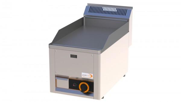 Gas-Grillplatte glatt 1 Heizzone 330 x 600 x 290 mm