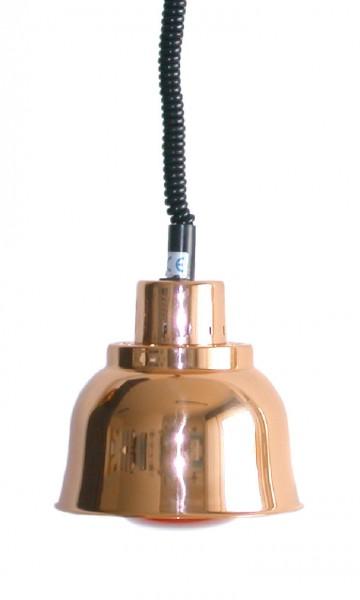 Wärmestrahler Kupfer Infrarot 250 W ø 225 mm H 850-1900 mm