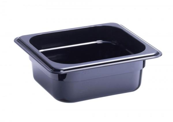 GN-Behälter GN 1/6 176 x 162 x 50 mm Polycarbonat schwarz