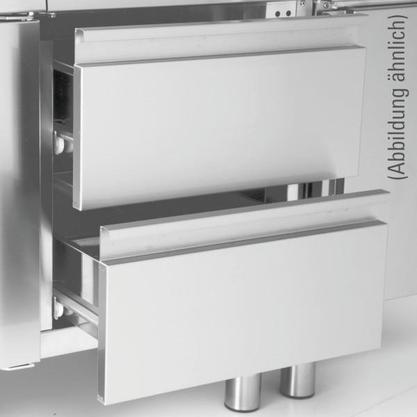 Schubladen-Set 500 mm mit 2 Schubladen für Unterschränke Serie 650