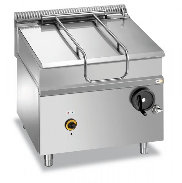 Elektro-Kippbratpfanne 80 l manuelle Kippung 800 x 900 x 850 mm