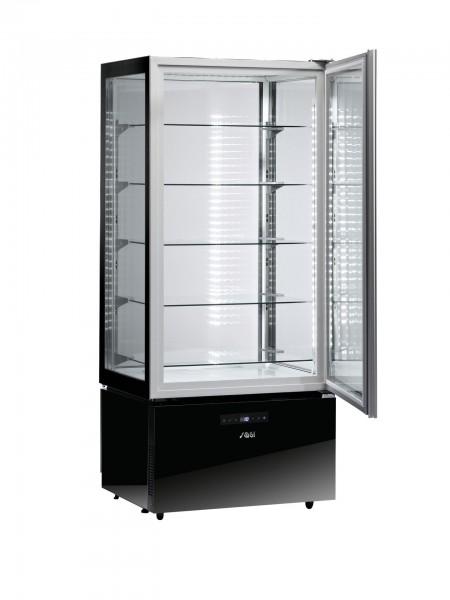 Show-Kühlvitrine 490 l schwarz