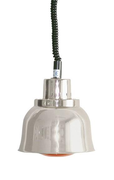 Wärmestrahler Chrom Weißlicht 250 W ø 225 mm H 850-1900 mm