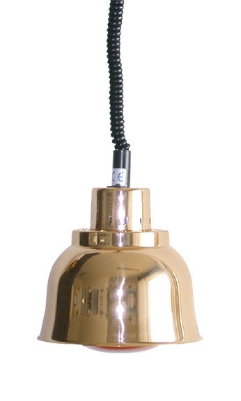 Wärmestrahler Kupfer Weißlicht 250 W ø 225 mm H 850-1900 mm