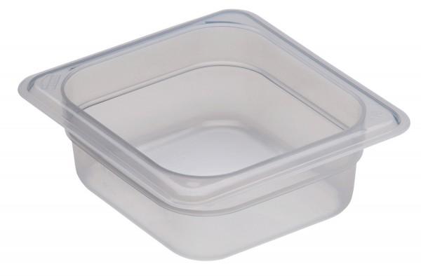 Frischhaltebox GN 1/6 176 x 162 x 65 mm Polypropylen transparent