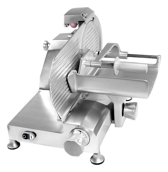 Senkrechtschneider Fleischwaren Messer ø 250 mm 520 x 610 x 500 mm