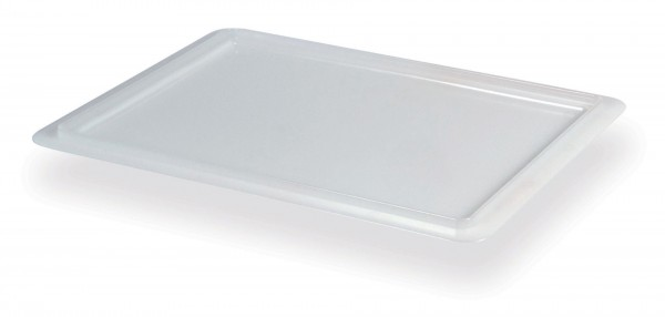 Deckel für Transportbox 525006 Polyethylen weiß 400 x 300 mm