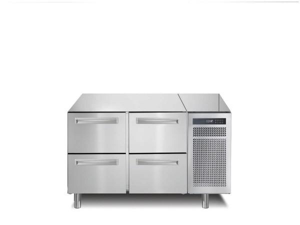 Kühltisch 168 l GN 1/1 4 Schubladen
