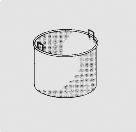 Kochkessel-Einsatz 100 l, 1-teilig