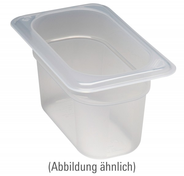 Frischhaltebox GN 1/9 176 x 108 x 65 mm Polypropylen transparent
