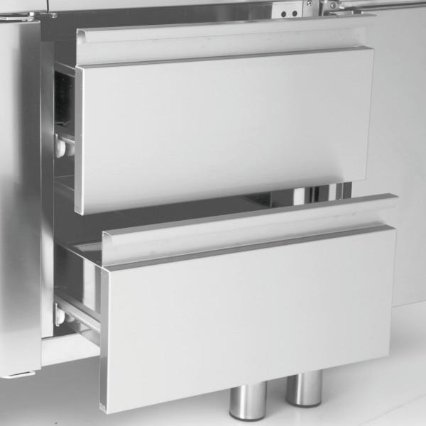 Schubladen-Set 300 mm mit 2 Schubladen für Unterschränke Serie 650