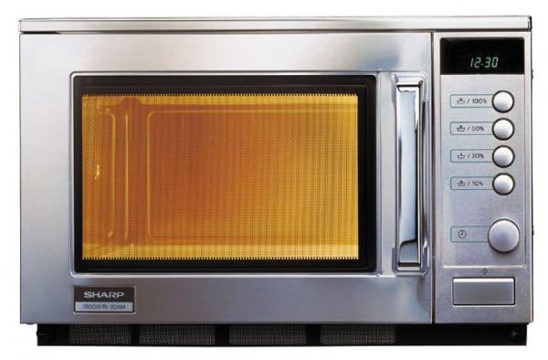 Gewerbe-Mikrowelle R-22AM 1500 Watt510 x 470 x 335 mm- Garraumvolumen 20,00 l- I