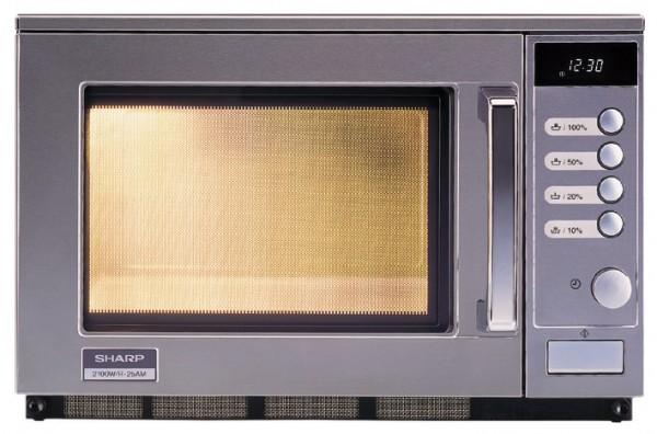 Gewerbe-Mikrowelle R-25AM 2100 Watt510 x 470 x 335 mm- Garraumvolumen 20,00 l- I