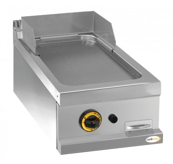 Gas-Grillplatte glatt 1 Heizzone 400 x 700 x 250 mm