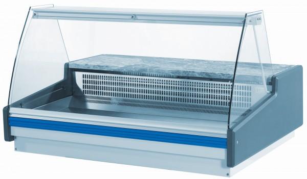 Kühlvitrine für Fisch ohne