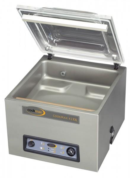 Vakuumiergerät cookmax 42XXL 21 m³/h Schweißbalken 420 mm, 480 x 610 x 470 mm| Cookmax