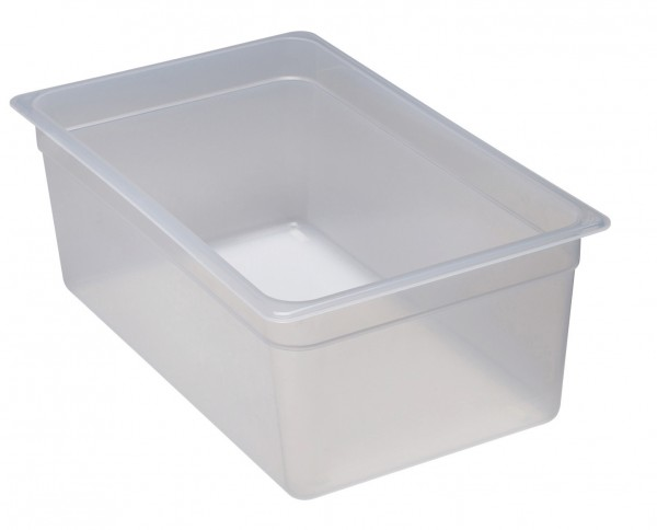 Frischhaltebox GN 1/1 530 x 325 x 200 mm Polypropylen transparent