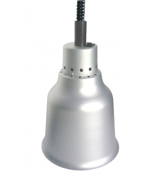 Wärmestrahler Aluminium Weißlicht 250 W ø 190 mm H 850-1900 mm