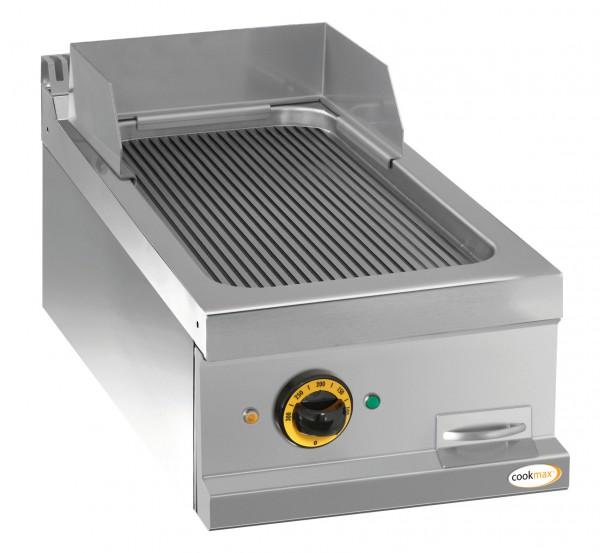 Elektro-Grillplatte gerillt 1 Heizzone 400 x 700 x 250 mm