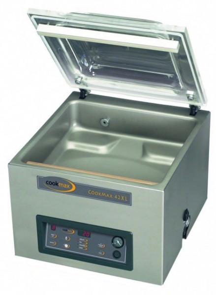 Vakuumiergerät 21 m³/h Vollausstattung Schweißbalken 420 mm, 480 x 610 x 470 mm  Cookmax