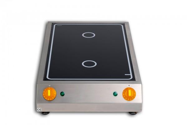 Strahlheizkörper-Kochfläche 6,00 kW 400 x 665 x 120 mm