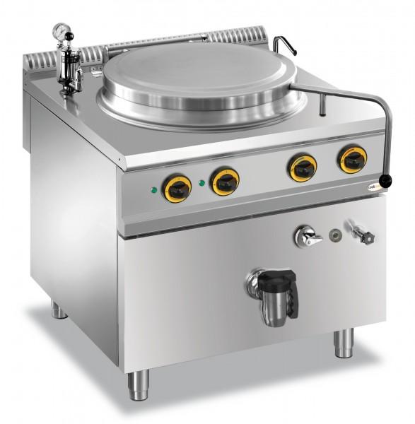 Elektro-Kochkessel 100 l indirekte Hitze 800 x 900 x 850 mm