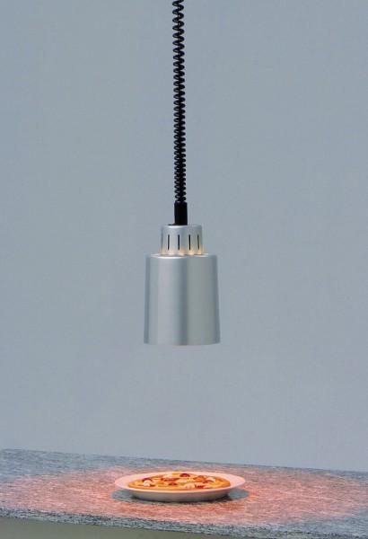 Wärmestrahler silberfarbig 250 W ø 140 mm H 850-1700 mm
