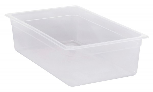 Frischhaltebox GN 1/1 530 x 325 x 150 mm Polypropylen transparent