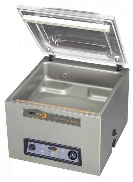 Vakuumiergerät cookmax 42XL 16 m³/h Schweißbalken 420 mm, 480 x 610 x 470 mm| Cookmax