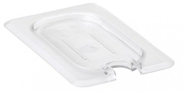 GN-Deckel GN 1/9 176 x 108 mm ohne Griffmit Aussparung Polycarbonat transparent-