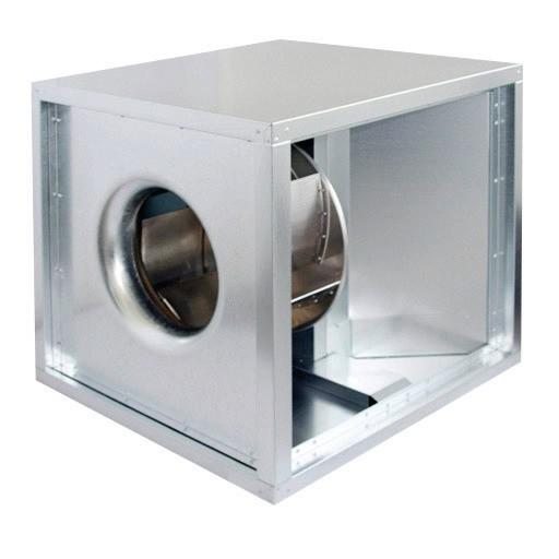 Abluftbox, Motor außerhalb Luftstroms, 500 x 500 x 500 mm, 4200 m3/h  Cookmax