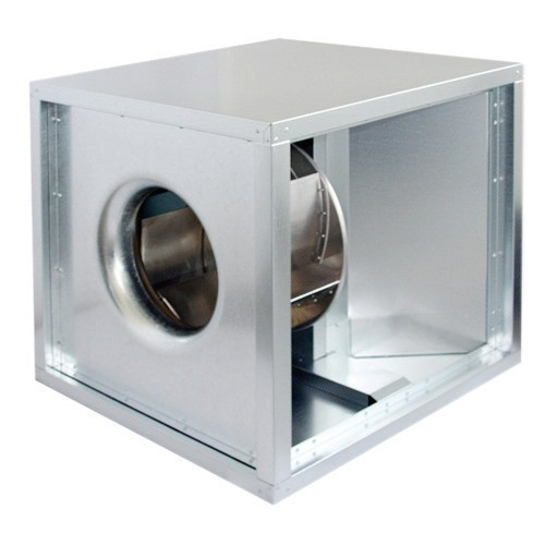 Abluftbox, Motor außerhalb Luftstroms, 500 x 500 x 500 mm, 2600 m3/h| Cookmax